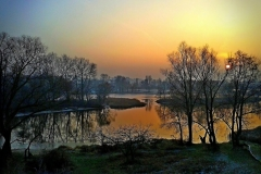 Река Мухавец. Декабрьский вечер.