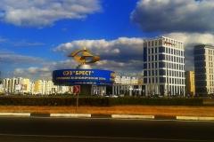 Вдоль Варшавского шоссе.