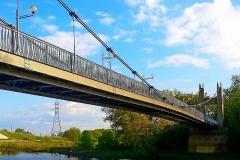Подвесной  мост.
