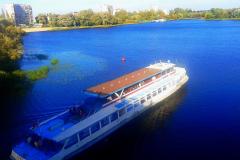 Путешествие на теплоходе по реке Мухавец.