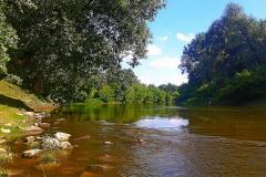 Река Западный Буг  в городе Брест.