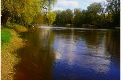 Одна из трех рек города Брест -  река  Буг.