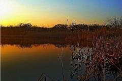 Вечерние краски на каналах озер Бреста.