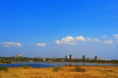 """Каскад озер """"Сои""""  в городе Брест."""