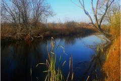 Естественные водные каналы.