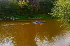 Цвет реки  Западный Буг.