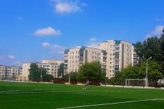 Поля  футбольной академии в Бресте.